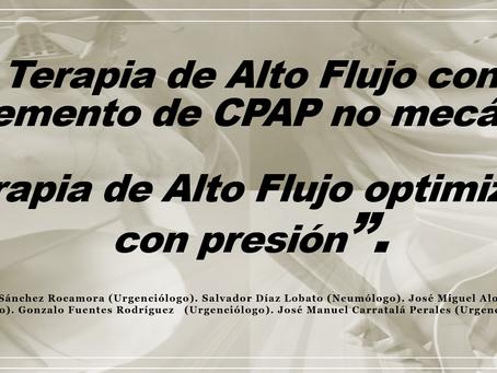 Ponencia Dr Carratalá sobre Terapia de Alto Flujo Optimizada con CPAP