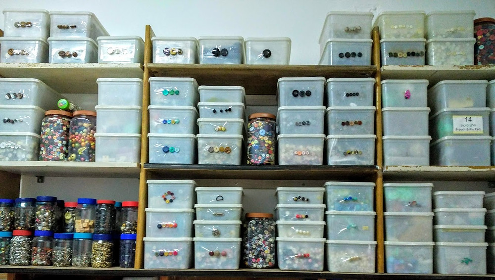 Button and Bead organization