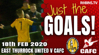 Just the Goals - East Thurrock United