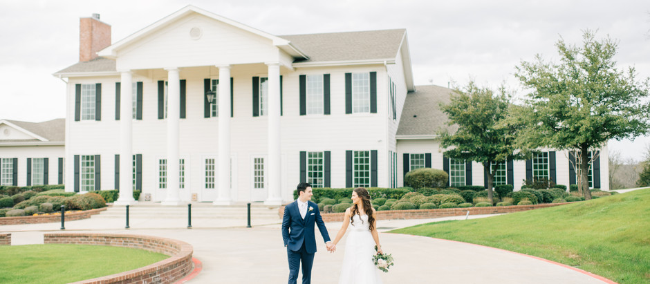 Milestone Mansion Wedding | Krum, TX Macy & Cameron