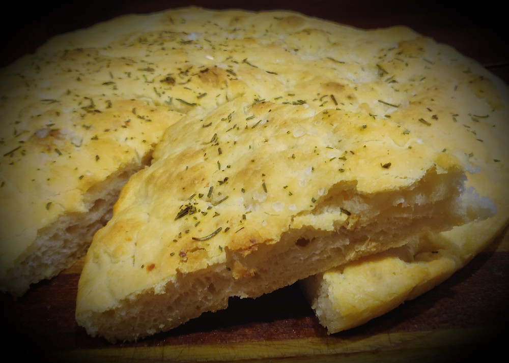 focaccia con le patate ricetta genovese tradizionale torte felici