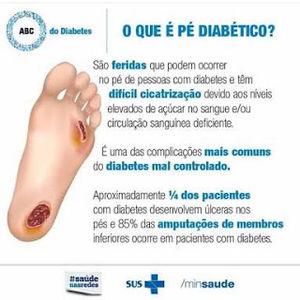 diabetes e inchaço dos dedos dos pés