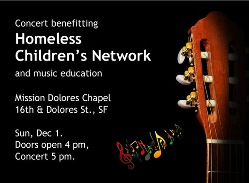Join Us on Dec 1: Concert Benefiting HCN