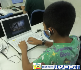 パソコン村 諫早教室 パソコンの勉強 がんばります!!