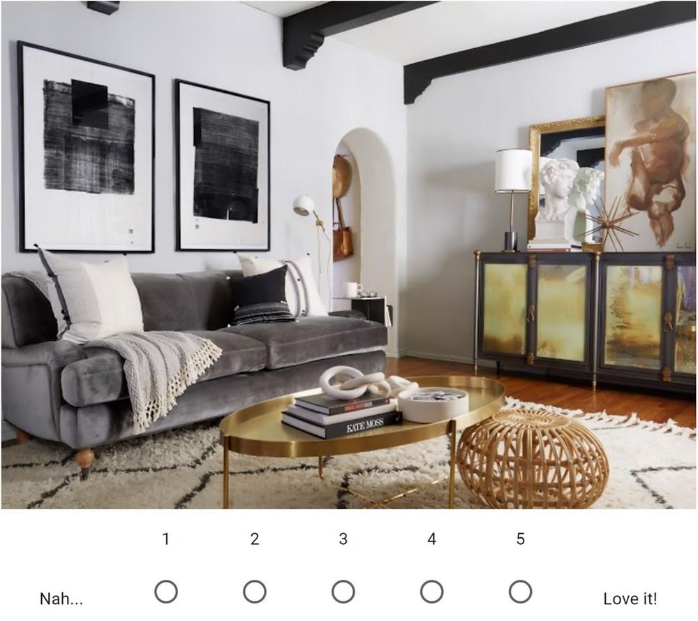 Brady Tolbert's living room