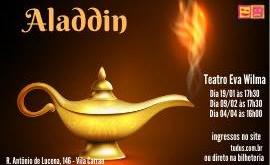 Aladdin no Teatro Eva Wilma