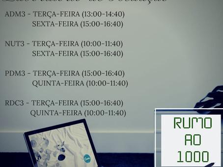 Cronograma do laboratório de Redação 2º bimestre
