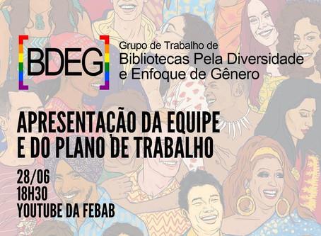 Live: Apresentação e Plano de Trabalho do GT-BDEG