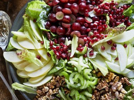 Composed Waldorf Salad