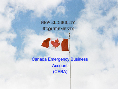 Canada Emergency Business Account (CEBA) Upcoming Revisions