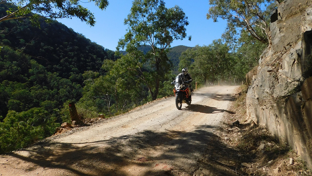 Blue skies, the Southern Highlands, dirt roads and an eager KTM rider. PERFECT