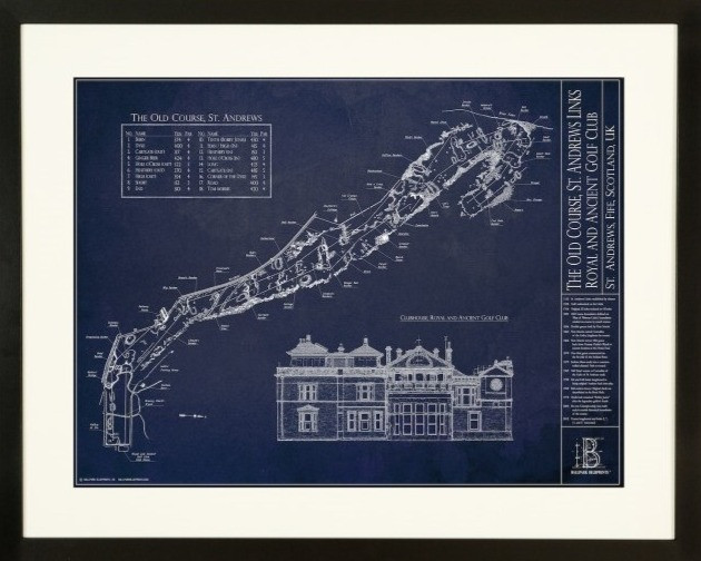 Ballpark Blueprints, St Andrews, Royal and ancient, home of golf, golf course architecture