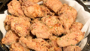 Summer Time Fried Chicken Wings