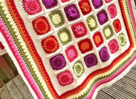 Trellis Crochet Border
