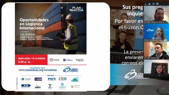 Conferencia 'Oportunidades en Logística Internacional'