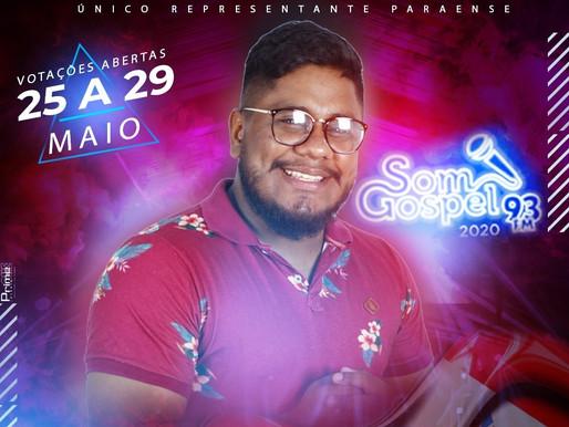 Barcarenense disputa maior concurso de música gospel do Brasil no Rio de Janeiro
