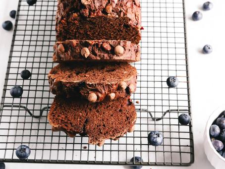 Healthy Chocolate & Banana Loaf