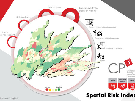 Spatial risk analysis towards informed capital investment decisions