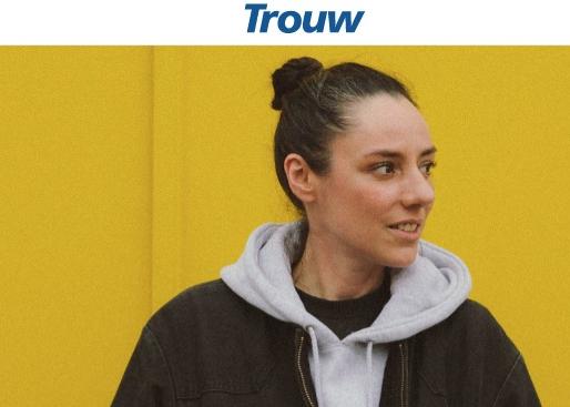 Kléo interviewed in Trouw