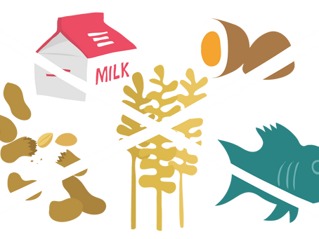 Alergia, intolerancia y sensibilidad a los alimentos.