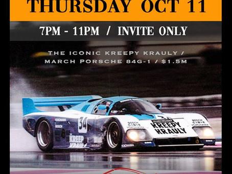 VIP Porsche Experience Formula1 Pre Party