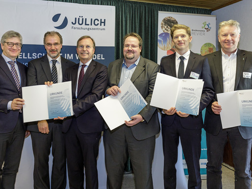 SenseUp does its part to the structural change in Jülich