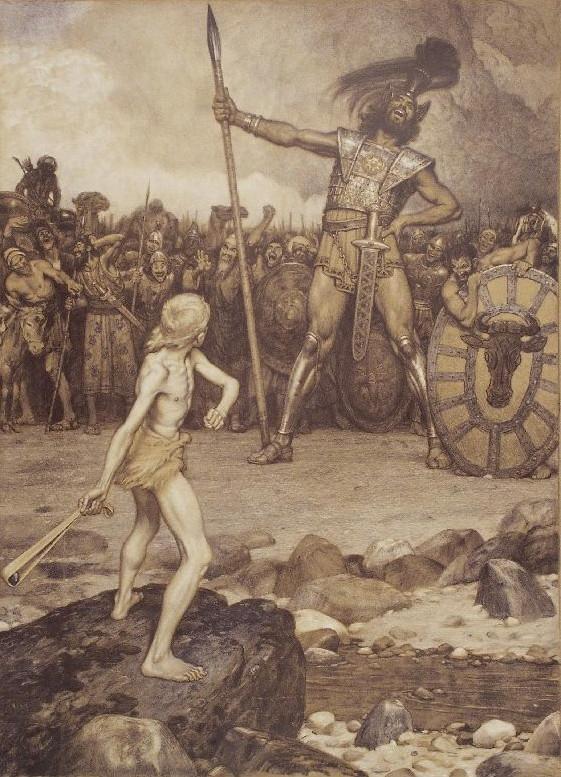 David and Goliath wikipedia