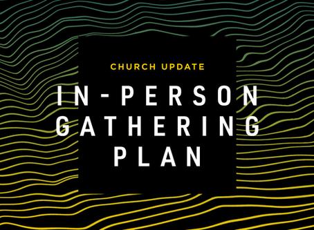 In-Person Gatherings Postponed