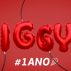 A Iggy completa 1 ano!