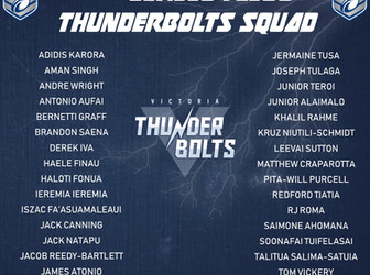 2020 Victoria Thunderbolts Jersey Flegg Final Squad
