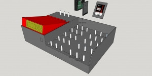 ACARD Serise SATA HDD/SSD/DOM Duplicator Controller 지원 구성 샤시