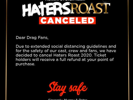 Haters Roast: The Shady Tour 2020 Cancelled