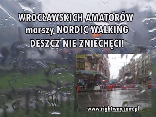 Wrocławianie ćwiczą bez względu na pogodę.