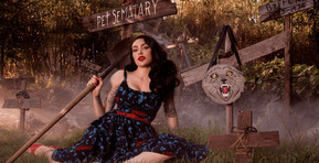 Vixen by Micheline Pitt Launches Officially Licensed 'Pet Sematary' Apparel and Accessories