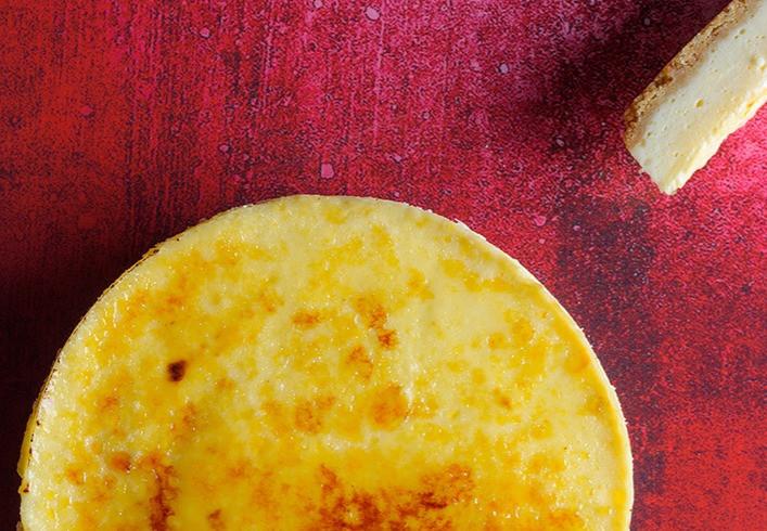Krembriulė sūrio pyragas, vmg receptas