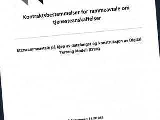 Frame agreement Statens Vegvesen