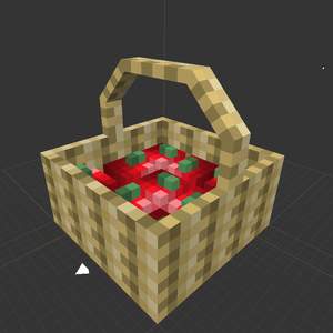 More Blox Minecraft Mod Apple Basket