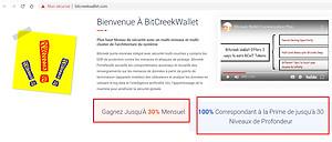 BitCreek Wallet SCAM