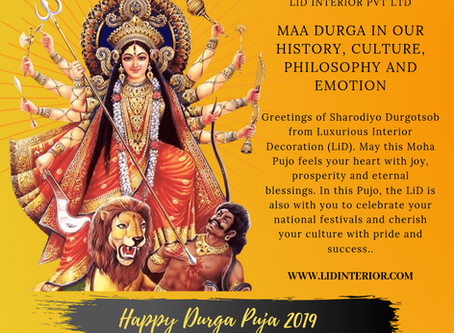 Maa Durga in our History, Culture, Philosophy and Emotion