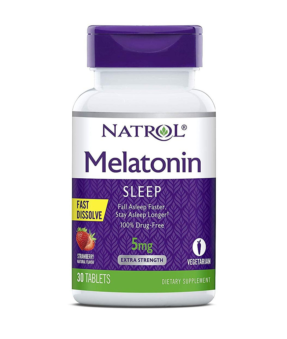 Natrol Fast Dissolve Melatonin Tablets
