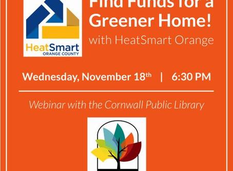 Cornwall Public Library Virtual Program