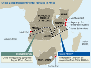 Angola-Tanzania Railway Line Construction in the Offing - Africa Railway Projects News - Rail Projec