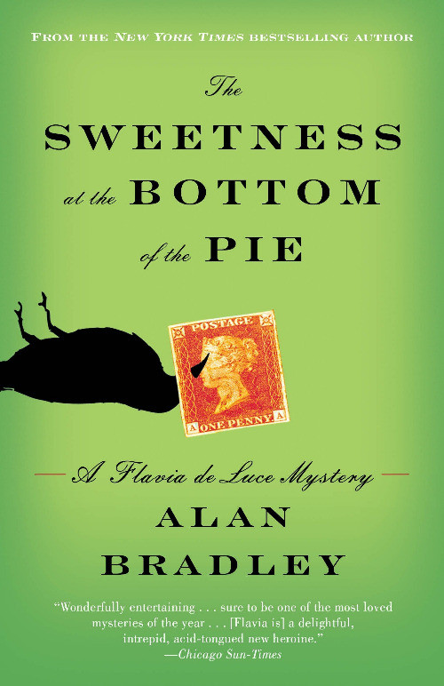 book cover of Alan Bradley's The Sweetness at the Bottom of the Pie