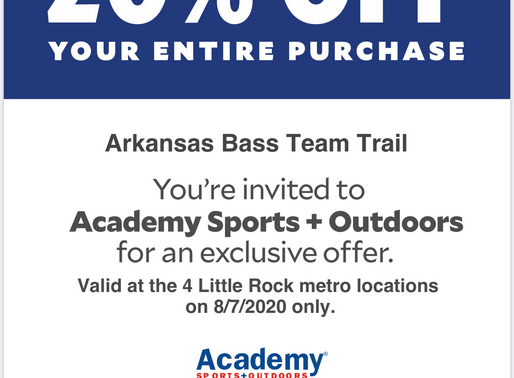 Arkansas Bass Team Trail Anglers & Rumble on the River Anglers