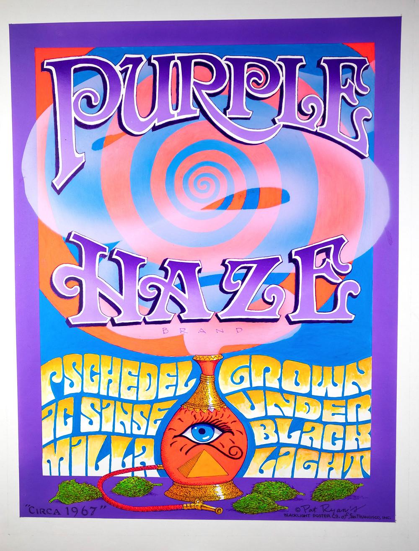 """""""Purple Haze"""" original painting by Pat Ryan."""