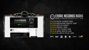 October on Exode Records Radio