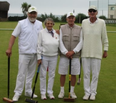 Thomas and Rogers Reign at Sidmouth Croquet Club
