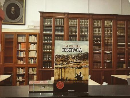 DESGRACIA, de J.M. Coetzee