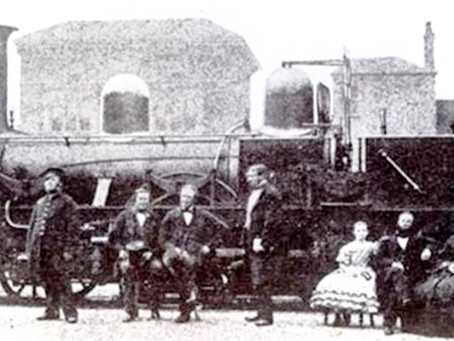 1842: The progress of the Haywards Heath Railway Station a year after its creation