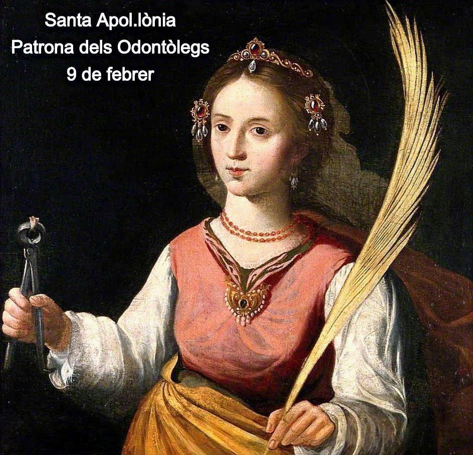 Santa Apol.lònia Patrona dels dentistes